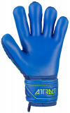 Reusch Attrakt Freegel S1 Finger Support Junior 5072238 4949 blue yellow back