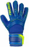 Reusch Attrakt Freegel S1 Finger Support Junior 5072238 4949 blue yellow front