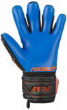 Reusch Attrakt Freegel S1 Finger Support Junior 5072238 7083 black blue orange back
