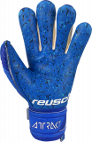 Reusch Attrakt Fusion Finger Support Guardian Junior 5172940 4010 blue back