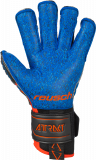Reusch Attrakt G3 Fusion Evolution Finger Support 5070938 7083 black blue orange back