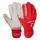 Reusch Attrakt Grip Finger Support 5170810 3002 white red 1