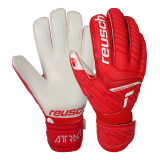 Reusch Attrakt Grip Finger Support Junior 5172810 3002 white red 1