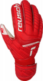 Reusch Attrakt Grip Finger Support Junior 5172810 3002 white red front