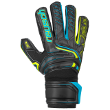 Reusch Attrakt RG Finger Support 5070610 7052 black yellow front