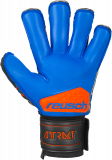 Reusch Attrakt S1 Evolution Finger Support 5070238 7083 black blue orange back