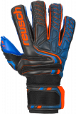 Reusch Attrakt S1 Evolution Finger Support 5070238 7083 black blue orange front