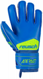 Reusch Attrakt S1 Finger Support Junior 5072230 4949 blue yellow back