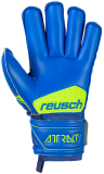Reusch Attrakt S1 Roll Finger Junior 5072217 4949 blue yellow back