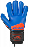 Reusch Attrakt S1 Roll Finger Junior 5072217 7083 black blue orange back