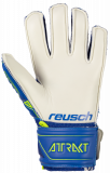 Reusch Attrakt SD Open Cuff Finger Support Junior 5072510 4940 blue yellow back