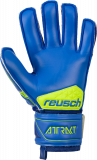 Reusch Attrakt SG Extra Finger Support 5070830 4949 blue yellow back