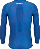 Reusch Compression Shirt Padded 5113700 4010 blue back