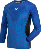 Reusch Compression Shirt Padded 5113700 4010 blue front