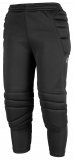 Reusch Contest II 3_4 Short Junior 5027205 7702 black silver front