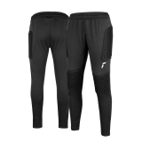 Reusch Contest II Pant Advance Junior 5126215 7702 black silver 1