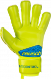 Reusch Fit Control S1 Evolution Finger Support 3970238 583 yellow back