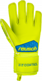 Reusch Fit Control S1 Finger Support Junior 3972230 583 yellow back