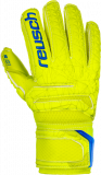Reusch Fit Control S1 Finger Support Junior 3972230 583 yellow front