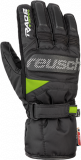 Reusch Ski Race 4901133 7716 black green front