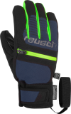 Reusch Theo R-TEX® XT Junior 6061202 7712 black green blue front