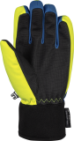 Reusch Torby R-TEX® XT Junior 6061210 4002 black blue yellow back