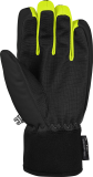 Reusch Torby R-TEX® XT Junior 6061210 7008 black yellow grey back