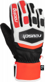 Reusch Worldcup Warrior Team 6011122 7810 white black red front