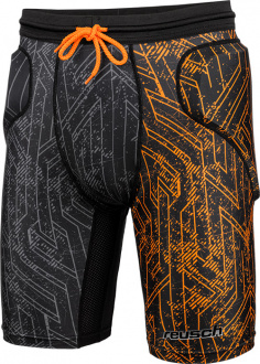 Reusch CS Short Padded orange front