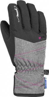 Reusch Aimée R-TEX® XT Junior 4961272 7690 black grey pink front