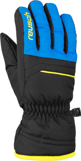 Reusch Alan Junior 6061115 7002 black blue yellow front