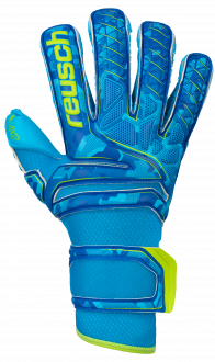 Reusch Attrakt AX2 Evolution 5070439 4989 green blue front