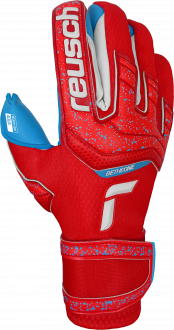 Reusch Attrakt Aqua 5170439 3001 blue red front