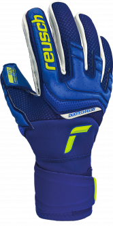 Reusch Attrakt Duo 5170055 4949 blue yellow front