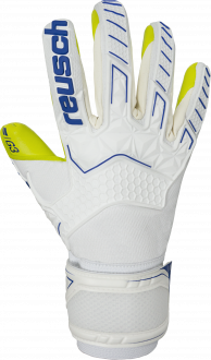 Reusch Attrakt Freegel G3 5070115 1091 white blue yellow front