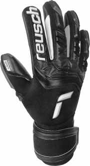 Reusch Attrakt Freegel Infinity Finger Support 5170730 7700 black front