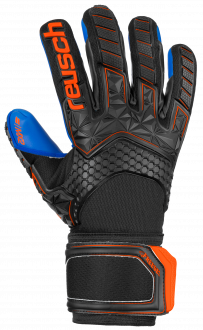 Reusch Attrakt Freegel MX2 5070135 7083 black blue orange front