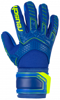 Reusch Attrakt Freegel S1 Junior 5072239 4949 blue yellow front