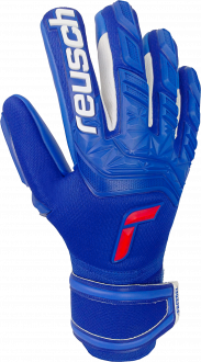 Reusch Attrakt Freegel Silver Finger Support 5170230 4010 blue front