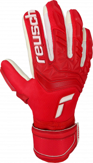 Reusch Attrakt Freegel Silver Junior 5172239 3002 white red front
