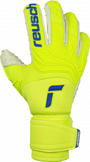 Reusch Attrakt Freegel SpeedBump Ortho-Tec 5170078 2001 white blue yellow front
