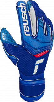 Reusch Attrakt Fusion Finger Support 5170940 4010 blue front