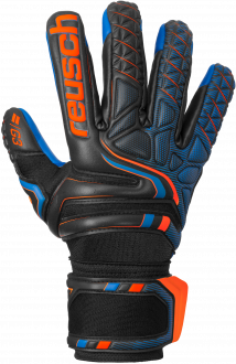 Reusch Attrakt G3 Evolution NC 5070949 7083 black blue orange front
