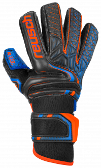 Reusch Attrakt G3 Fusion Junior 5072955 7083 black blue orange front