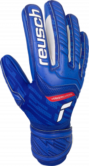 Reusch Attrakt Grip Evolution Finger Support 5170820 4010 blue front