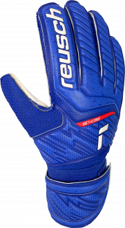 Reusch Attrakt Grip Junior 5172815 4011 white blue front