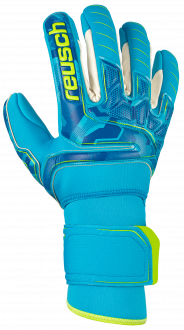Reusch Attrakt Pro AX2 Evolution NC Ortho-Tec 5070458 4989 green blue front