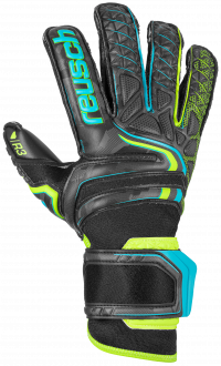 Reusch Attrakt R3 Evolution 5070739 7052 black yellow front