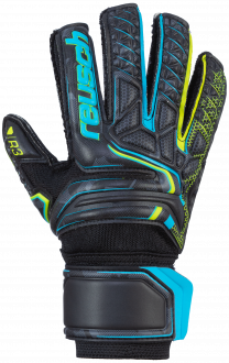 Reusch Attrakt R3 Junior 5072735 7052 black yellow front