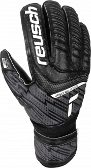 Reusch Attrakt Resist Finger Support 5170610 7700 black front